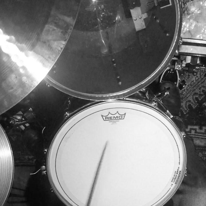 Drumming it up.